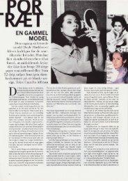 EN GAMMEL MODEL - Camilla Alfthan