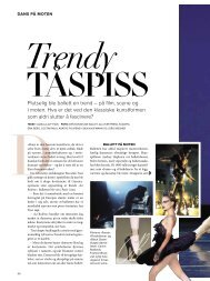 Plutselig ble ballett en trend – på film, scene og i ... - Camilla Alfthan