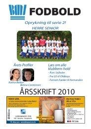 Årsskriftet 2010 - Beder-Malling Idrætsforening