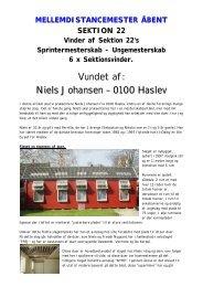 Niels Johansen – 0100 Haslev - Helle & Peter Knudsen, 030 Ringsted