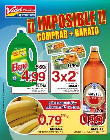 1,99 - Vidal Tiendas Supermercados