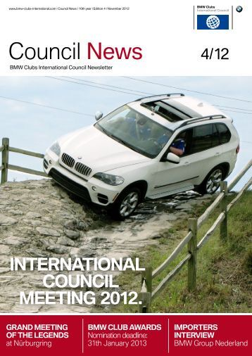 Issue 4/12 - BMW Car Club of America