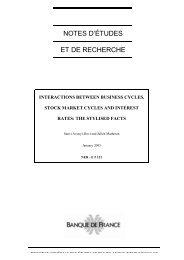Download the working paper no 121PDF - Banque de France