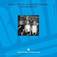 BMI 1_2007.qxp - Beder-Malling Idrætsforening