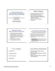 Smith/Eber Slides 9-30-10 - MSLBD