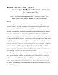 Peterson/Smith Paper 10-11-07 - MSLBD
