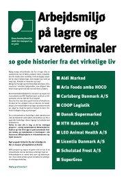 Arbejdsmiljø på lagre og vareterminaler - BAR transport og engros