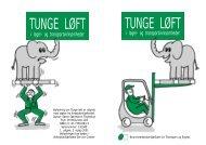 Tunge løft i lager - BAR transport og engros