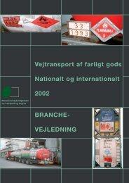 VEJLEDNING - BAR transport og engros