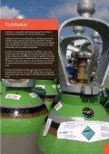 Sikker håndtering af trykflasker ved brand - BAR transport og engros - Page 3
