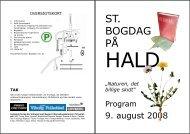 ST. BOGDAG PÅ - Det Danske Forfatter- og Oversættercenter Hald