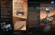 Curiosity's Brochure - Mars Exploration Program - NASA