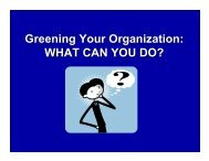 Greening Your Office - Clean Air-Cool Planet