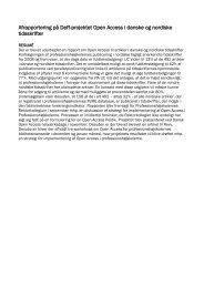 Afrapportering til Deff på projekt om Open Access december 2012.pdf