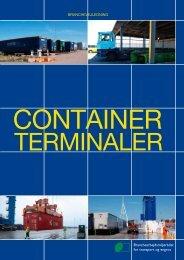 Arbejde på containerterminaler - BAR transport og engros