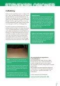 Forebyggelse af støveksplosioner i grovvarebranchen - Page 3