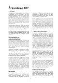 ÅRSBERETNING 2007 - Bevaringscenter Nordjylland - Page 2