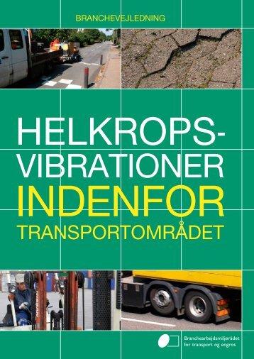 Branchevejledning om helkropsvibration indenfor transportområdet