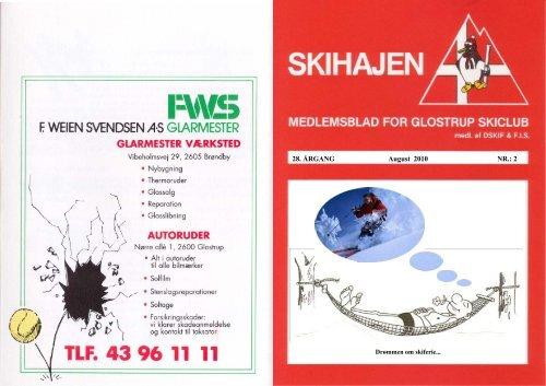 SKIHAJ aug. 10.pdf - Glostrup Skiclubs hjemmeside