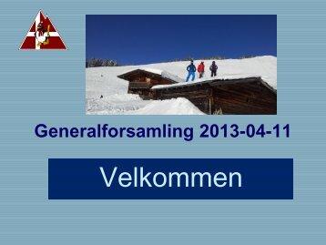 Generalforsamling 2013 - Glostrup Skiclubs hjemmeside