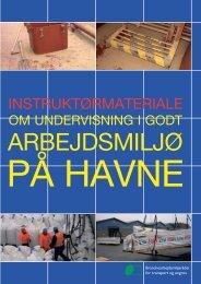 Instuktørmateriale om undervisning i godt arbejdsmiljø på havne