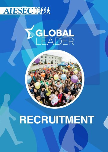 AIESEC in Melbourne Recruitment Booklet