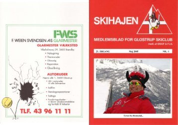 SKIHAJ maj. 05.pdf - Glostrup Skiclubs