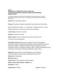 Diagnóstico y Tratamiento de los Trastornos Temporomandibulares ...