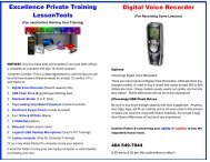 EPT - Training tools (Photo pages) - Fresh Gospel Music Lessons