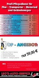 Download Flyer 2010 - Leos-Auto-Service