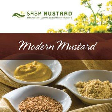 """Modern Mustard"" Recipe Book"