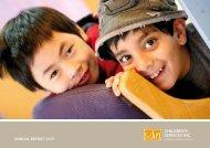 ANNUAL REPORT 2009 - SDN Children's Services