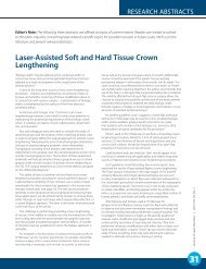 Laser-Assisted Soft and Hard Tissue Crown Lengthening