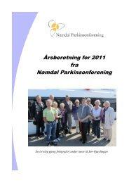 Aktivitetsplan 2012 Namdal Parkinsonforening. - Norges ...