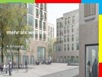 Präsentation Werner Waldhauser zum Thema ... - als Wohnen