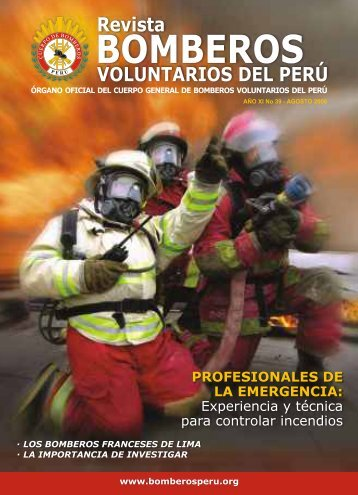 REVISTA PDF - Cuerpo General de Bomberos Voluntarios del Perú
