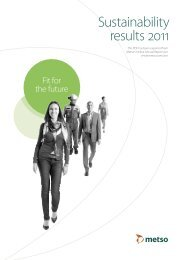 Sustainability Results 2011 PDF - Metso