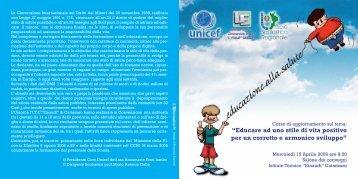 """brochure - Universita' degli Studi """"Magna Graecia"""""""