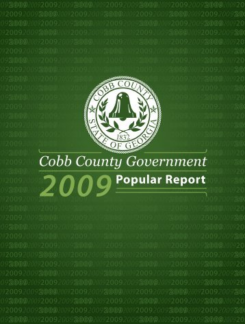 From The Chairman - Cobb County