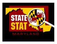 DLLR Graphs - Maryland StateStat