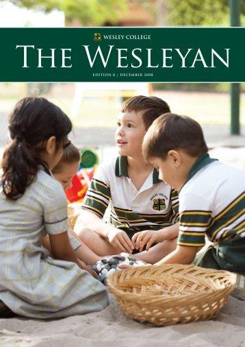 dECEmbEr 2008 - Wesley College