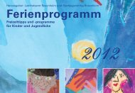 Ferienprogramm 2012 - Landkreis Rosenheim