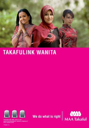 Takaful Wanita - MAA