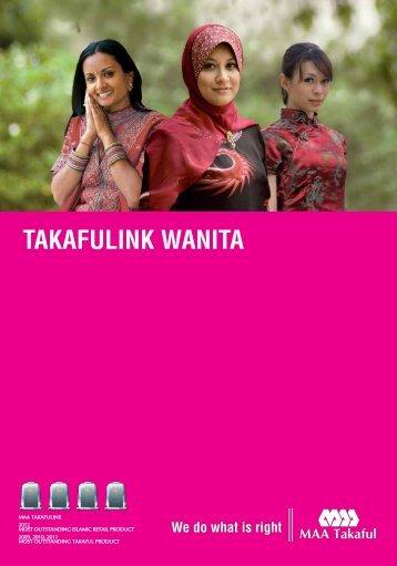 Takafulink Wanita 2013 - MAA