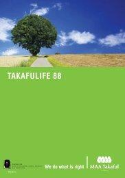 TAKAFULIFE 88 - MAA