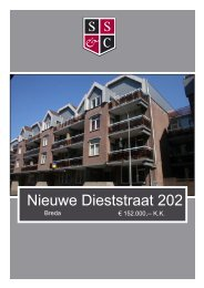 B- Nieuwe Dieststraat 202.indd - Schonck, Schul & Compagnie