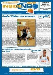 BV Wolfenbüttel Wildcats - New Basket 92 Oberhausen