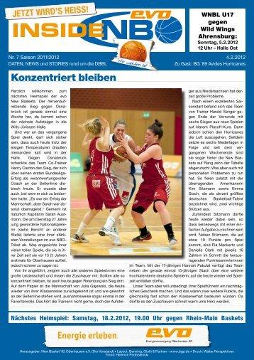 BG ´89 Avides Hurricanes - New Basket 92 Oberhausen