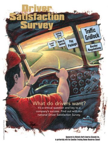 Driver Satisfaction Survey - Canadian Trucking Human Resources ...