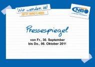 Pressespiegel 30.09. - New Basket 92 Oberhausen